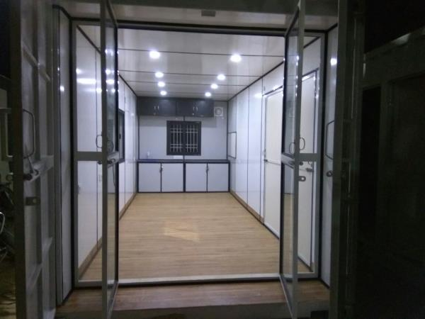 20'x16 ft. House Container With Kitchen and Toilet for sale  - by J K TECHNOLOGIES, Delhi