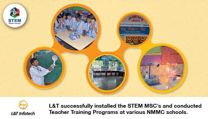STEM Learning Pvt Ltd Be the change you wish to see. L& T believes in the same. Their valuable association with STEM Learning to make a difference to the education system is reflected in their contribution through their CSR activity. L& T s - by Stemlearning, Mumbai Suburban