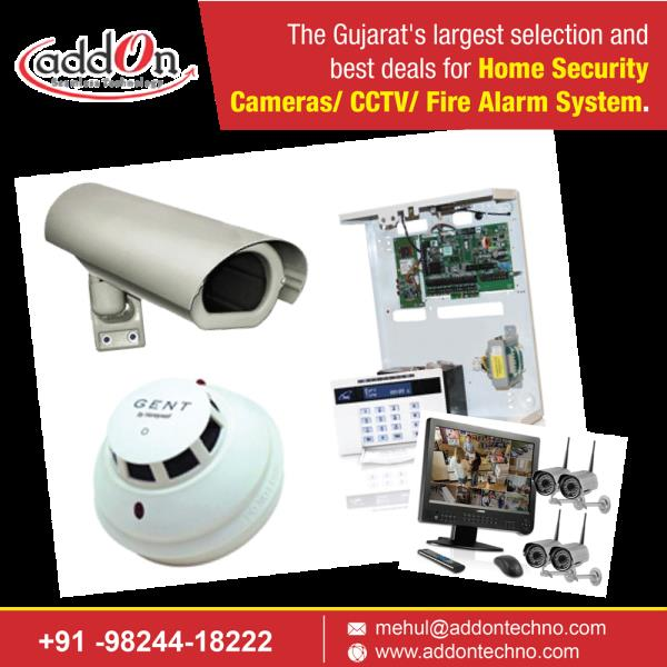 The Gujarat's largest selection and best deals for Home Security Cameras/ CCTV/ Fire Alarm System.  Fire Alarm System Vadodara Home Security Cameras Ahmedabad CCTV Security Systems Surat Surveillance Security System Bharuch  Order Now: http - by Addon TECHNOLOGY, vadodara