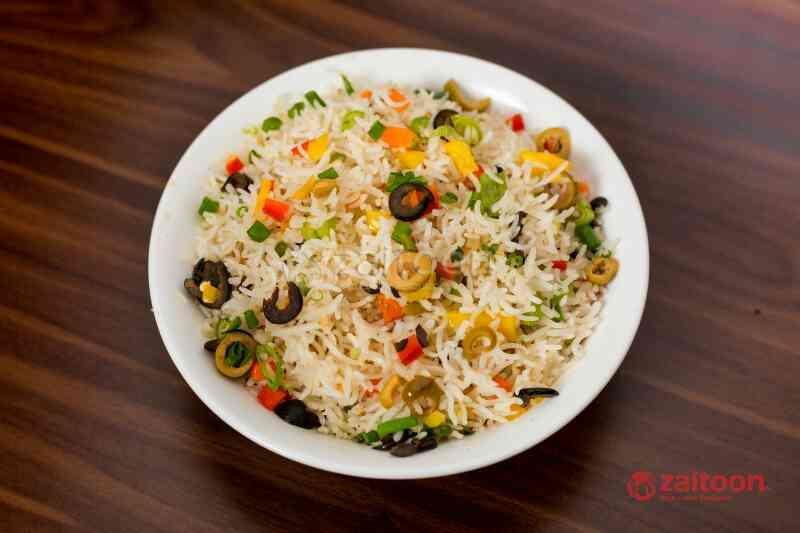 Veg Olive Fried Rice - by ZAITOON RESTAURANT, Madurai