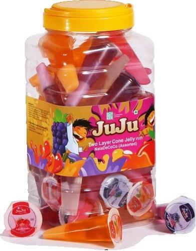 JuJu Cone Jelly with Natade Coco  We are leading name in manufacturing and supplying JuJu Cone Jelly with Natade Coco. These are available at affordable rates. - by Schmeckenagrofoodproducts, Chennai