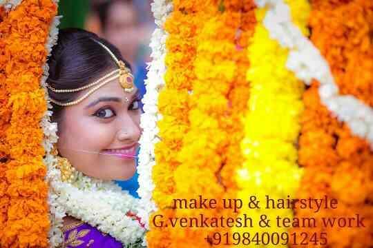 Tamil Wedding Make Up Artist                9840091245   www.weddingmakeupinchennai.com  - by Bridal Makeup Chennai - Venkatesh Makeup 9840091245, Chennai
