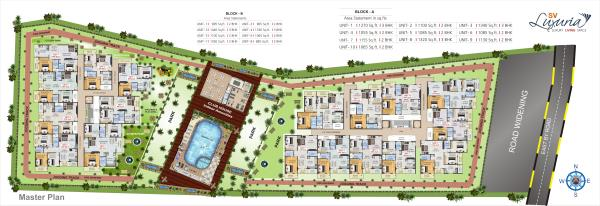 2bhk Awesome flats available with amenities Like Swimming Pool, Club House, Etc...   - by SV Infraa, Bangalore