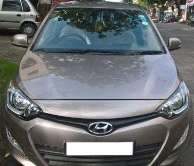 HYUNDAI I20 1.4 ASTA CRDI:MODEL 9/2012, KM 27409, COLOUR BRONZ, FUEL DIESEL, PRICE 575000 NEG.USED VEHICLE FOR SALE COMPLEAT SHOWROOM TRACK.  - by Nani Used Cars, Hyderabad