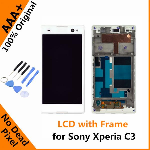 Sony Xperia C3 Touch Screen with LCD Display & Frame @ 3280/- all inclusive takes one day time for repair and replacement with testing.  Here is a one stop solution for all the issues related to Apple Phones/I Pads along with Android Tablet - by Tablet Repairs In Hyderabad, Secunderabad