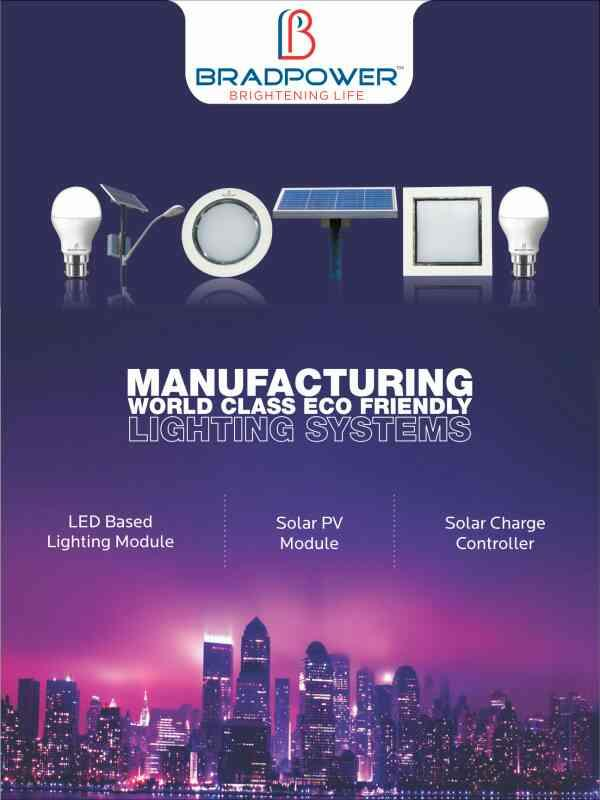 BRADPOWER IS MNRE APPROVED COMPANY...  FOR MORE INFO WWW.BRADPOWER.IN - by Bradpower solar panel @9999810099, Greater Noida