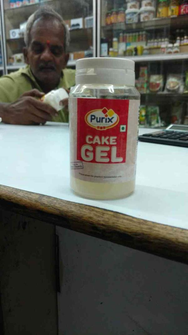 Purix CAKE GEL. Cake gel works as an emulsifier and stabilizer mix and provides standardized quality in sponge cake , cake and roll production . now available at Chawla Essence Mart.. Adding flavour to life.. so bake it with you love bake i - by CHAWLA ESSENCE MART, Hyderabad