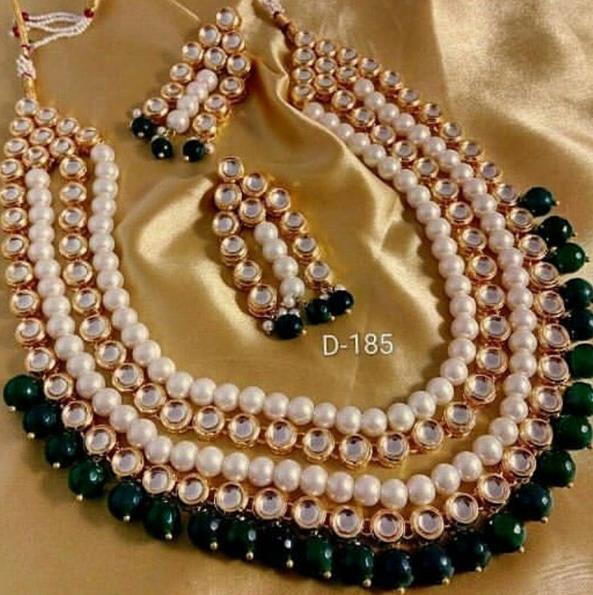 artificial neckless in kamla nagar - by Suvidya Jewellers @9899729191, New Delhi