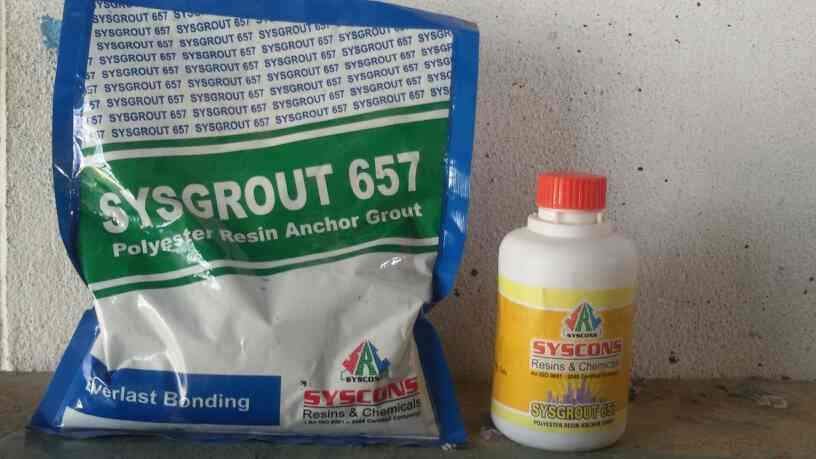 Polyester Resin Anchor Grout