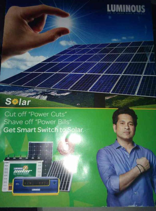 Hi power users,  Flash news  I can give the solution for the power usage of your existing ups can be converted in to SOLAR INVERTER CONTACT (POWER MAN) :9341210221 www.avighnapower.com  - by Avighna Power Solution, Bangalore