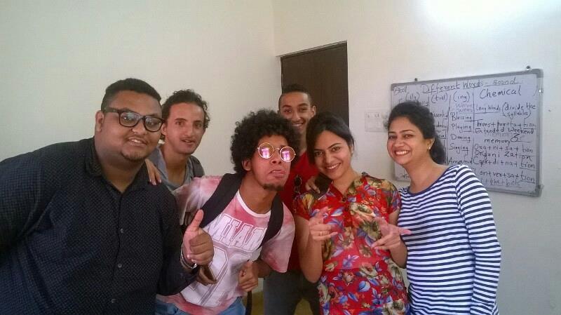 residential course for English language in porvorim