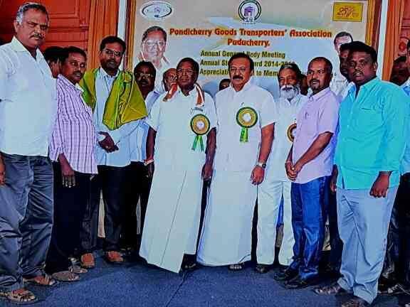 With CHEIF MINISTER AND TRANSPORT MINISTER - by KEERTHIROADLINES, Pattanur