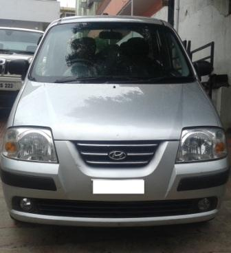 HYUNDAI SANTRO XS:MODEL 02/2005, KM 68669, COLOUR SILVER, FUEL PETROL, PRICE 185000 NEG.USED VEHICLE FOR SALE COMPLEAT SHOWROOM TRACK.  - by Nani Used Cars, Hyderabad