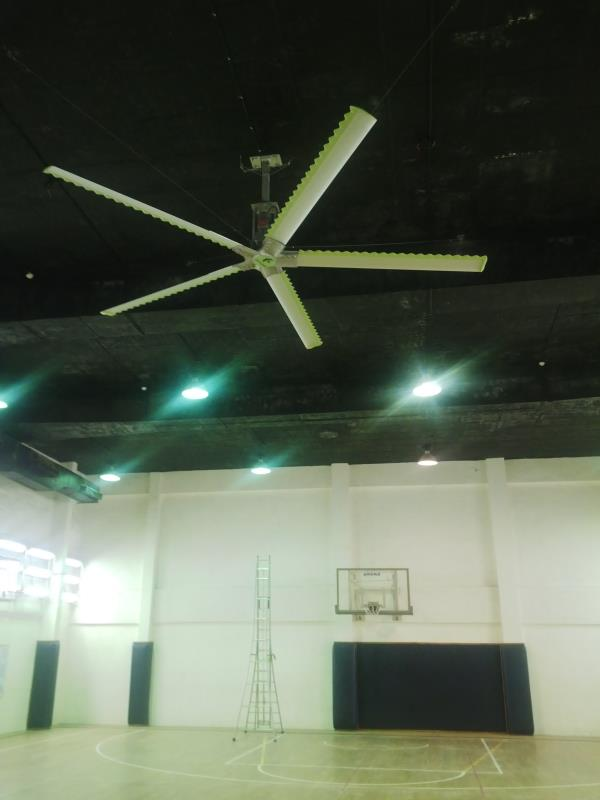 Live DEMO facility available for HVLS Fans. Ahmedabad, Vadodara, Surat, Rajkot - by MGTech, Ahmedabad
