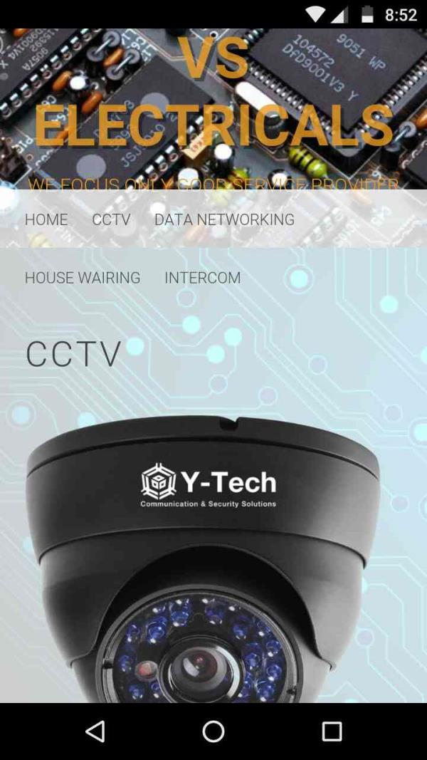 Chennai Best CCTV Installed   We Provide good service to client request  contact person  : venkat 7401234599 - by VS ELECTRICALS - 7401234599, Chennai