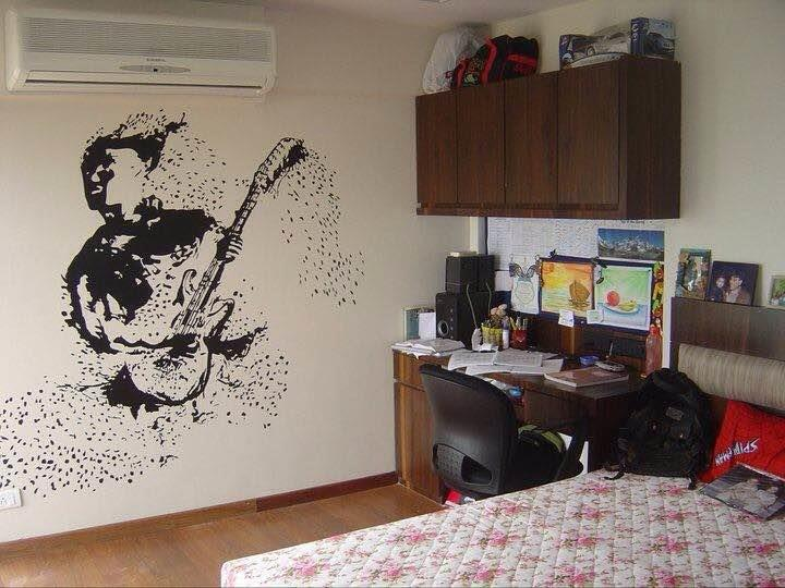 Give a new look to your home this festive season, in just one day. Make it lively & colorful with creative, customized designs by Shellyswalls.  Customised Wall Art, Wall Decal, Wall Tattoos in multi colors by Shellyswalls – Mumbai. Order n - by Shellys Walls, Mumbai