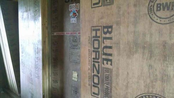 Waterproof flush door (Darvaje). available in all size 24 , 27 , 30 , 33 , 36 , 39 , 42 , 45.   At genuine rate.