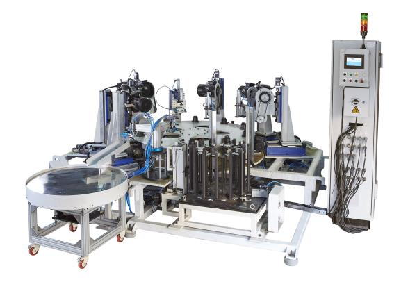 Special Purpose Machine for Synchro Hub Automatic Deburring Machine Loading Indexer : 14 stations with stack bars De-burring Rotary Indexer Table : 10 station Indexer with collets Component Transfer Unit : Pneumatic Actuated Cycle Time : 13 - by Delight Process Designers &Automation, Pune