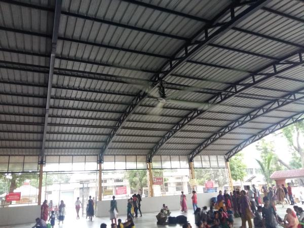 HVLS Fans India by MGTech Ahmedabad.  Ideal for big size areas Factories, Churches, Mosques, Temples, Gyms, Canteens.   - by MGTech, Ahmedabad