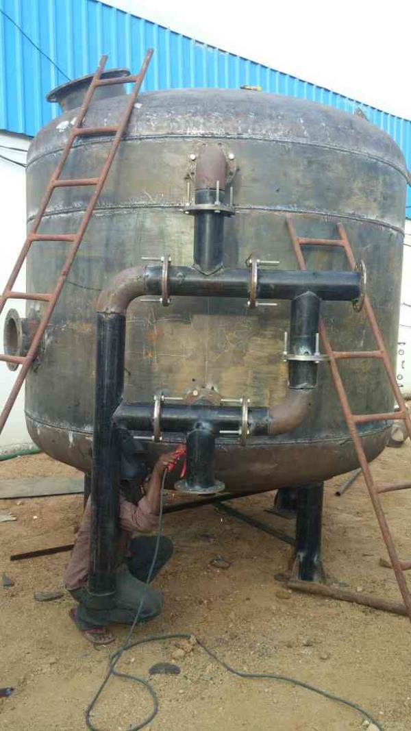 Manufacturing of Multi Grade Filter 2.8 Dia  - by A N Engineering Works, Hyderabad