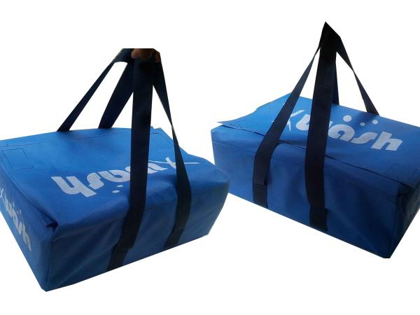 non woeven bags for laundry units. we do all types of non woven customised bags.we do Non-woven customised bags, non-woven shopping bags, non-woven seed bags, non-woven rice bags. for more deetails feel free to contact us on https://www.fac - by Indian jute bags, Hyderabad