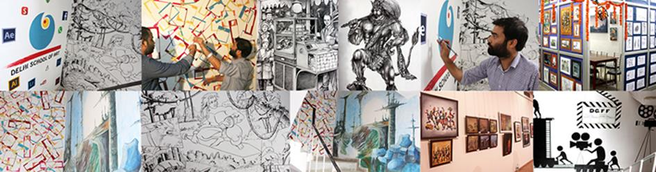 Delhi School of Art - Best Fine Art Institute In Delhi  #delhischoolofart is the #bestfineartinstitute in Delhi. #DSA give #artclasses to all age groups. DSA has students as young as 4years as we believe #childart is very important for a ch - by Delhi School Of Art, New Delhi