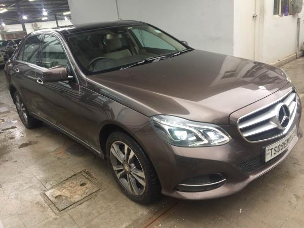 # Mercedes Benz E250 2015 Dec only 10k kms driven topend with fancy number and excellent track record - by Vasant Motors Pvt Ltd, Hyderabad