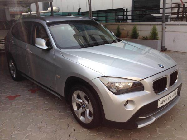 BMW X1 2012 model neatly maintained with complete service history excellent condition  - by Vasant Motors Pvt Ltd, Hyderabad