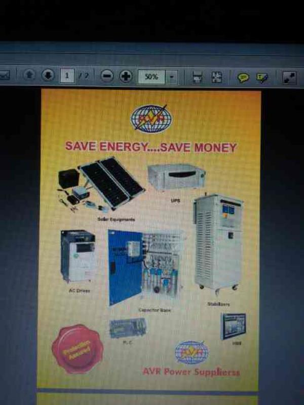 we are the best supplierss of apfc panels, Ac Drives, stabillizer, ups/inverter, solar