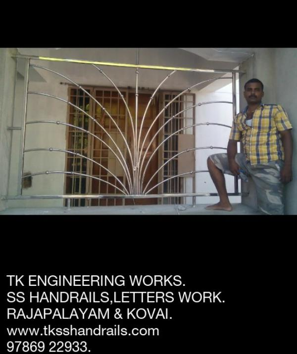 """TK ENGINEERING WORKS """"""""""""""""""""""""""""""""""""""""""""""""""""""""""""""""""""""""""""""""""""""""""""""""""""""""""""""""  SS Work in Rajapalayam.  SS Work in Sivakasi.  SS Work in Srivilliputhur.  SS Work in Theni.  SS Work in Kumbam.  SS Work in Sankarankovil.  SS  Work in Madurai.  SS  Work in Kovai.  SS Wor - by Handrails Work, Rajapalayam"""