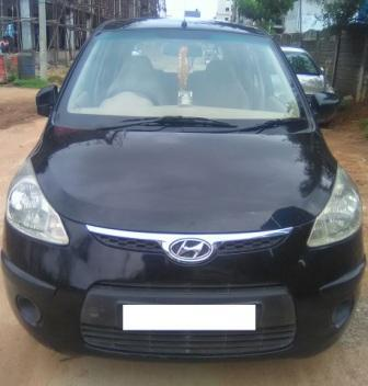 HYUNDAI I10 1.2 MAGNA:MODEL 10/2008, KM 80575, COLOUR BLACK, FUEL PETROL, PRICE 275000 NEG.USED VEHICLE FOR SALE COMPLEAT SHOWROOM TRACK - by Nani Used Cars, Hyderabad
