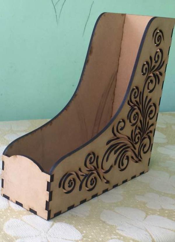 Latest creative design laser cutting job work in jaipur . Magazine laser cut designer mdf box  - by LASER CRAFTS ONLINE  Get Your Product Design Custom Made By Our Designers, Jaipur (Rajasthan)