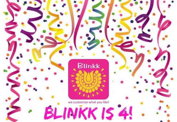 BLINKK is 4 today! A big thank you to all of you for your love and support. Come avail FLAT 10% off on shoes and bags (including orders) for the entire BIRTHDAY week. Order us through Facebook Page or Whatsapp or Visit us at the studio.  September 26-October 2  +919726811777  #4thAnniversary #AnniversarySale #Blinkk #BlinkkFootwear #Footwear #Shoes #Potlis #BoxClutch #WeddingCollection2016 #Wedding #Collection #Bridal #BridalCollection #PotliBags #Designer #Mumbai #Delhi #India #FashionBlogger #wedmegood #gold #FeminaIndia