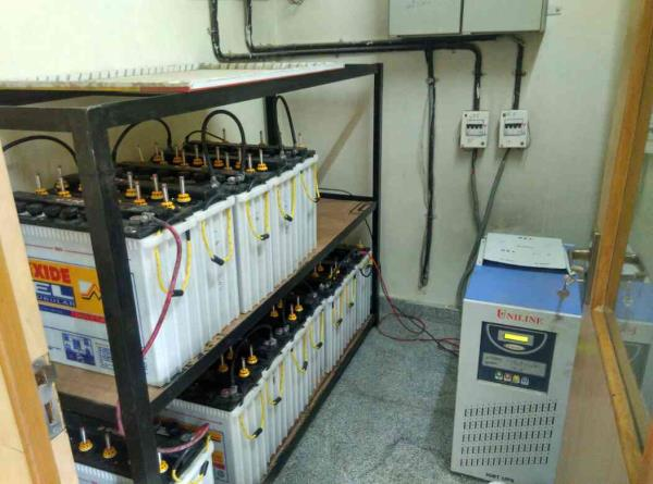 We done the ups Installation and Battery Installation in Bank of Baroda Branch, Exide Industrial Tubular Batteries with Batteries Rack we take care of Amc and Maintenance of Batteries & Amc of Ups with low cost and log in to www.avighnapowe - by Avighna Power Solution, Bangalore