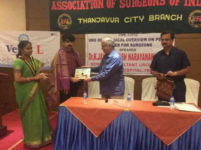I gave a lecture on cancer Penis in The prestigious forum of Association of surgeons India which has members of all.catogory including senior most retired professors .  - by Dr. Jayaprakash Narayanan, Tiruchirappalli