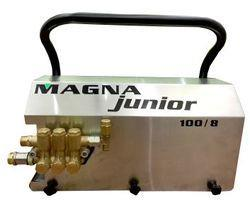 High Pressure Water Jet Cleaners  https://www.youtube.com/watch?v=u-Rbbtp670k  Adjustable High Pressure Foam Lance  Magna Cleaning Systems Pvt.Ltd. is very good Machine. This company use Hawk High Pressure Pump The special pumps in the NMT  - by Magna Cleaning System Pvt Ltd,Mumbai, Mumbai