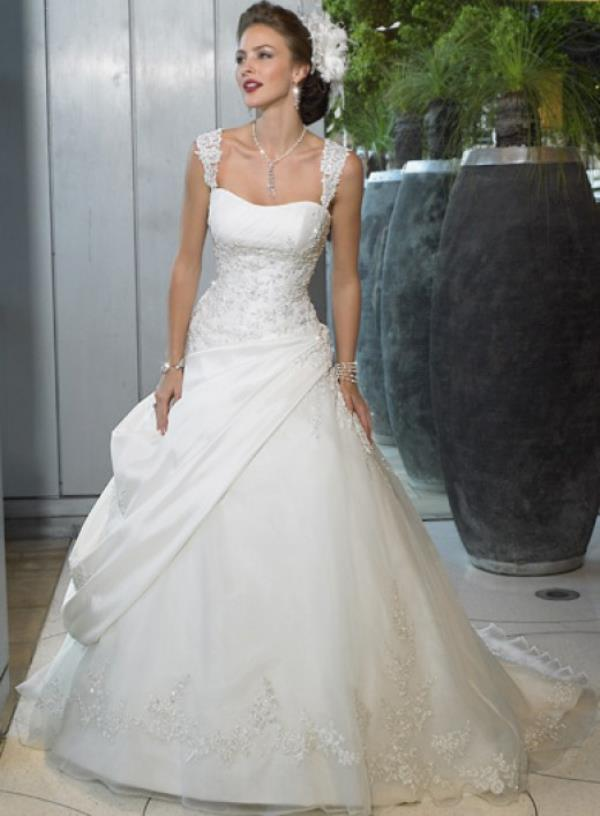 Christian Wedding Gowns Custom Made in Delhi  - by Runway Fashion - online store of custom tailored dresses, South Delhi