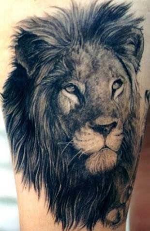 Lion art.  - by MAGIC ink tattoo studio goa, North Goa