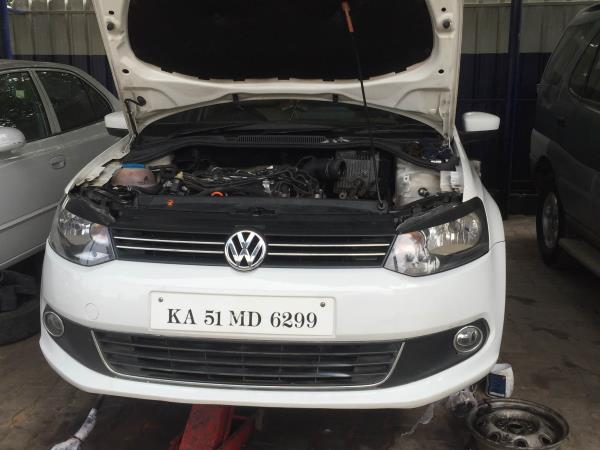 Just completed VOLKSWAGEN VENTO TDI Clutch Cover Assembly Replaced From YESMOTOR (Bosch car service) - by YES MOTOR, bangalore