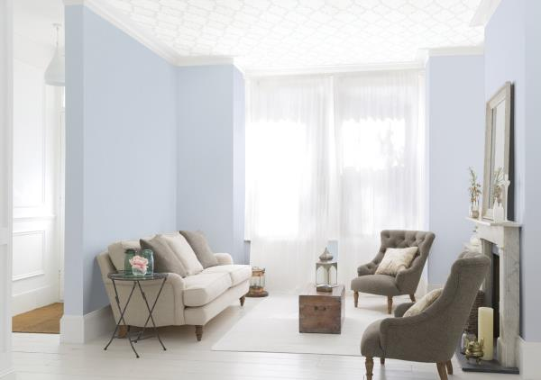 Add a touch of sophistication with marvelous wallpapers   The era of leaving the walls of house in single color is truly gone.  Wallcoverings and wallpapers with unique designs and well-complemented color combination is the new trend these  - by Top Interior Designers and Architect, Gurgaon