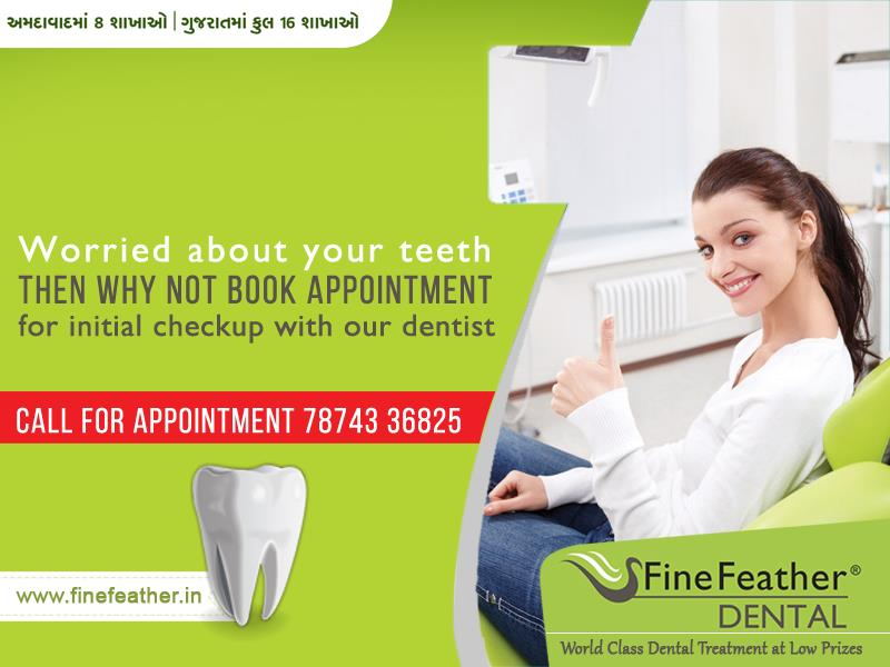 We offer you something which is the best alternative to traditional Braces. Our Clear Braces are fabricated according to your mouth. Save yourself from all the troubles of metal wires and brackets. Our Clear Braces are so transparent that t - by FineFeather Dental Satellite, Ahmedabad