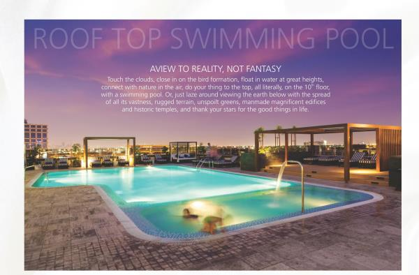 Spacious and Luxurious Flats for Sale  Near Shell Petrol Bunk, Amenities Like Roof Top Swimming Pool, Gym, Multipurpose Hall Etc. - by SV Infraa, Bangalore