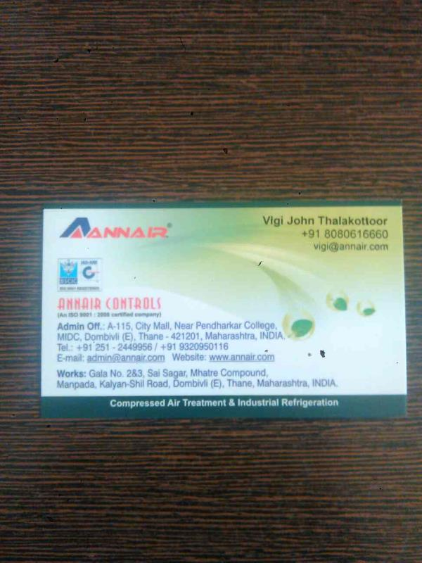 Annair Controls is the leading Manufacturer for Air Drayer in Mumbai Maharashtra in India.