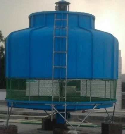 OCEANIC bottle cooling tower at Helios Pharma Baddi HP... - by Oceanic Cooling Towers Pvt Ltd, New Delhi