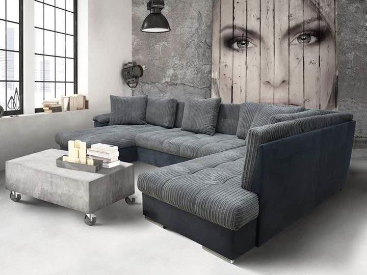 L shape sofa set manufacturers in Ahmedabad  Lots of colours and design choices available. Also customised as your requirements.  Call ;09725633161 - by Akshar Furniture, Ahmedabad