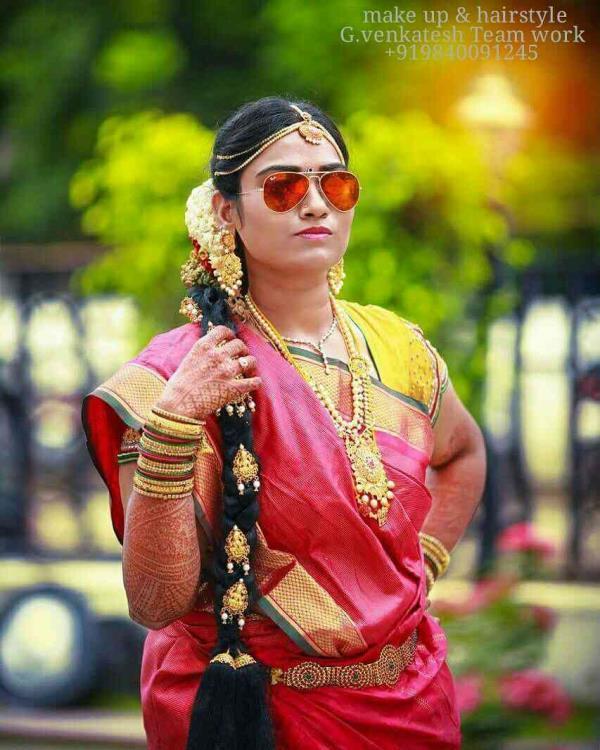 Best Wedding Make up Artist In Tamlnadu  G.venkatesh Team Work    +919840091245 - by Bridal Makeup Chennai - Venkatesh Makeup 9840091245, Chennai