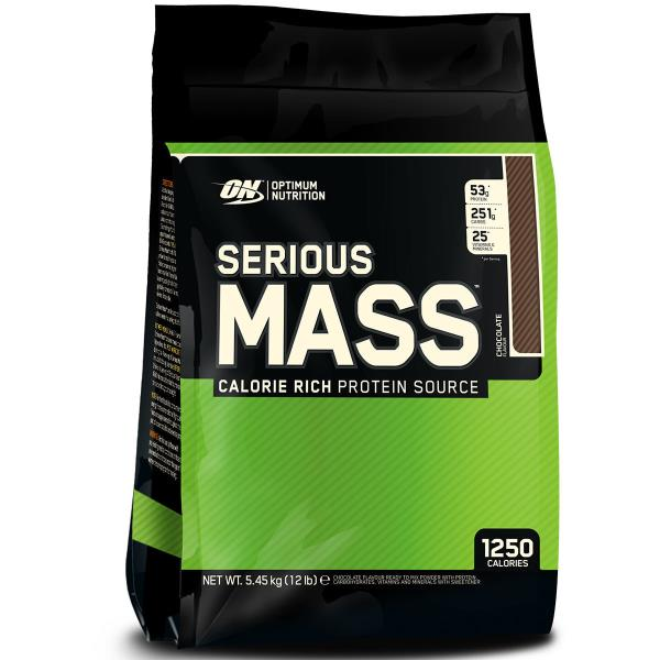 SERIOUS MASS is the ultimate Weight Gain Formula. With 1, 250 calories per serving and 50 grams of Protein for Muscle Recovery, this instantized powder makes a sizeable POST WORKOUT and between meals shake. Serious Mass gives you the tools you need to pack on pounds and - when coupled with serious weight training - develop your physique to the fullest.  BEYOND THE BASICS: Adding Calories has never been This Easy or Tasted So Good 1, 250 Calories,  50 Grams of Blended Protein,  Over 250 Grams of Carbohydrates with No Added Sugar,  Enhanced with Creatine, Glutamine, and Glutamic Acid,  25 Vitamins and Essential Minerals.