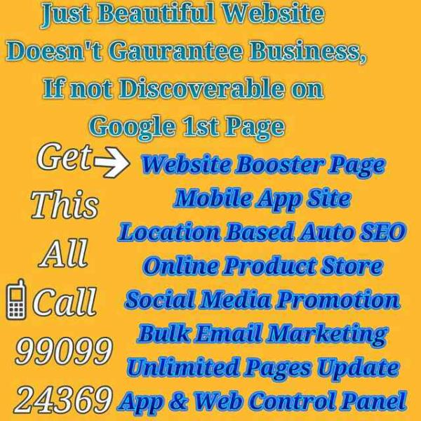 Offering Best Business Opportunity in IT Industry at Ahmedabad   Rajkot   Surat   Vadodara   Vapi  Ready to Use Online-Website Making Technology with complete Digital-Marketing Package of Online-Promotion  - by NF Partner   Franchise Business Opportunity   9033014366, Rajkot