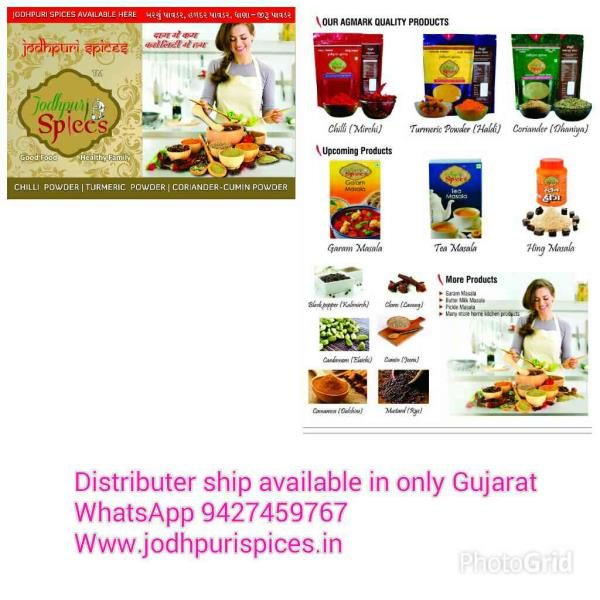All kind of spices India Spices manufacturer, Chilli Powder Manufacturer, Chilli Powder Suppliers Kashmir Mirch Powder Suppliers, Surat, Gujarat, Ahmedabad Gujarat  - by JODHPURI SPICES - Diwali Offer All Products Market Less price And Free Home delivery, Money Back Guarantee, Ahmedabad
