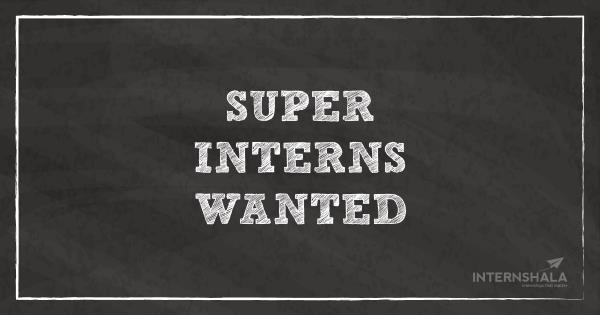Hi. We are looking for Interns for our Social Media Team. You can send in your resume or apply through the following link. - by Home Serve, Chennai